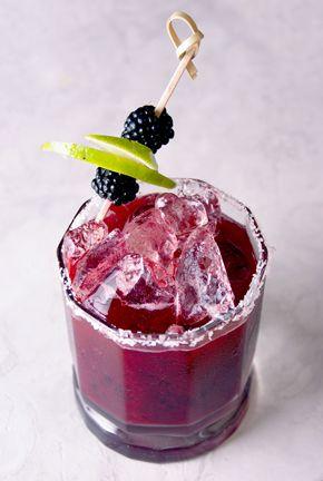 Winter Blackberry Ginger Margarita | master mixologist and tequila expert Manny Hinojosa