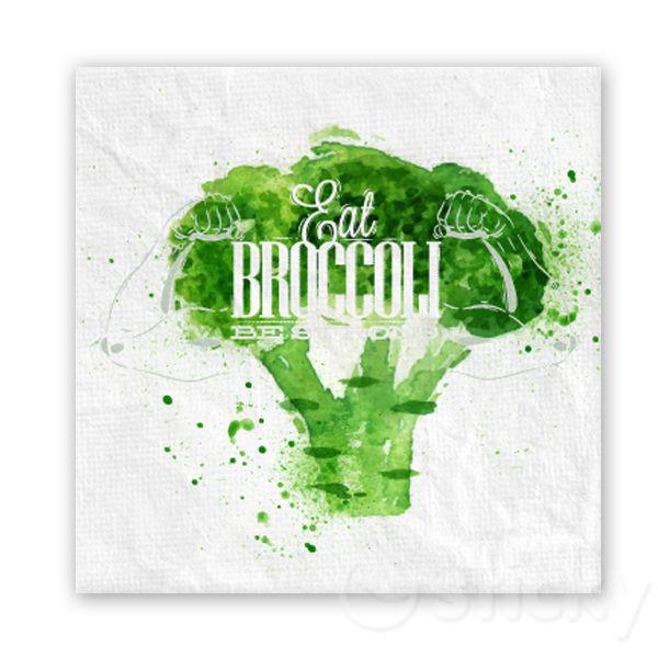 Canvas print BROCCOLI by Sticky!!!