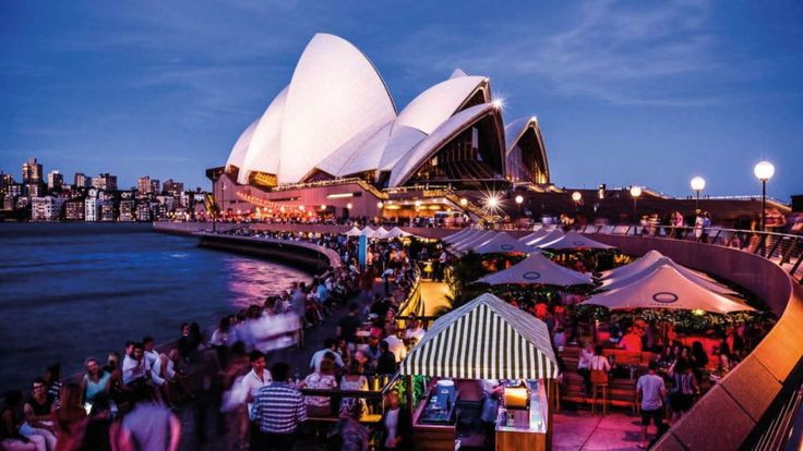 Opera Bar with Sydney Opera House in the background
