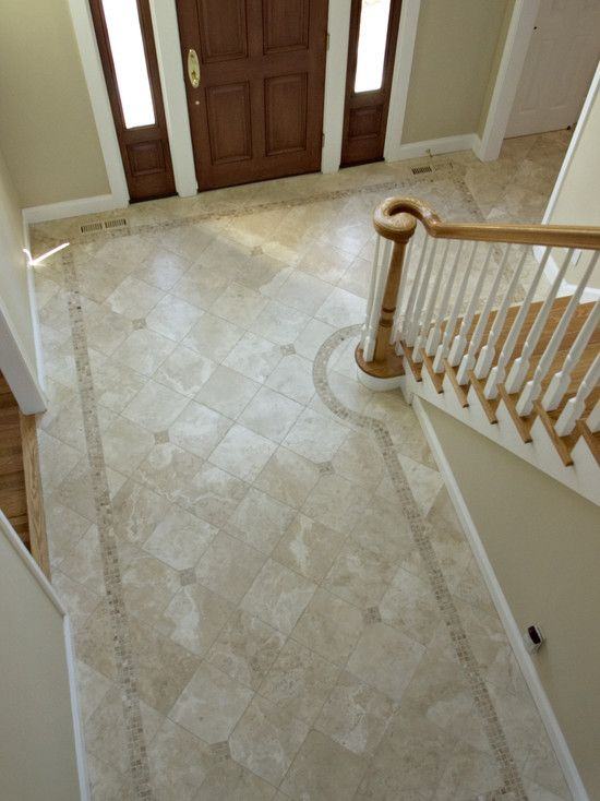 Amazing Foyer Tile Floor Designs 14 Amusing Foyer Tile