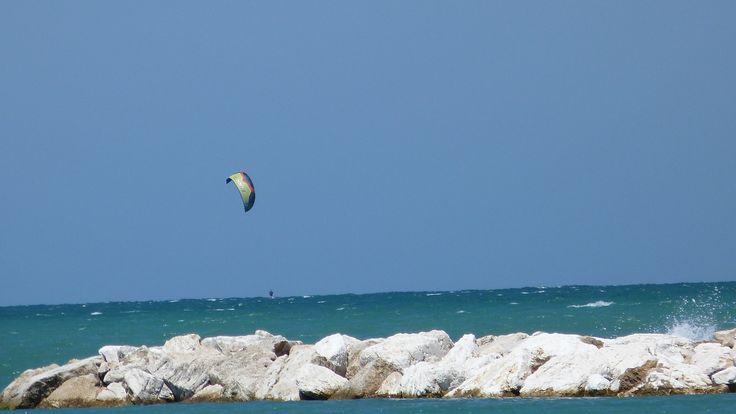 A perfeita combinação entre o céu e o mar!