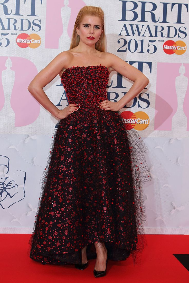 Brits 2015 red carpet | Brit Awards arrivals and pictures | Paloma Faith in Armani Prive