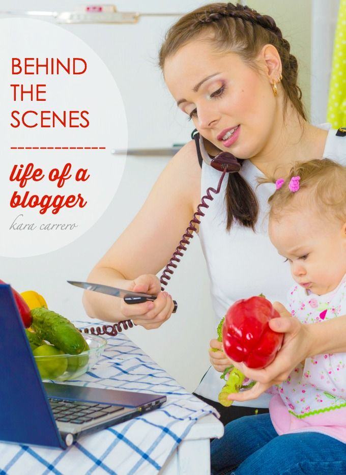 """What every blogger want you to know about their """"behind the scenes"""" life and what it's really like to be a WAHM mom who blogs."""