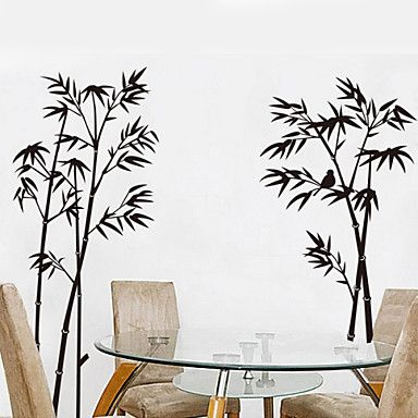 Botanical Bamboo Decorative Removable Wall Stickers 1064159 2016 – $9.99