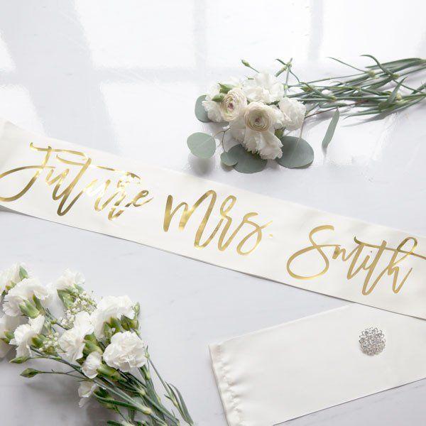 Personalized Future Mrs. Sash #Bachelorette #bachelorette-party #bachelorette-sash