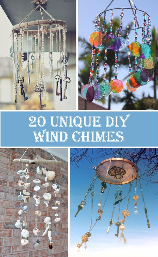 20 Unique DIY Wind Chimes