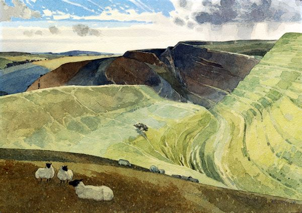 Maiden Castle (Dorset) by Ronald Jesty
