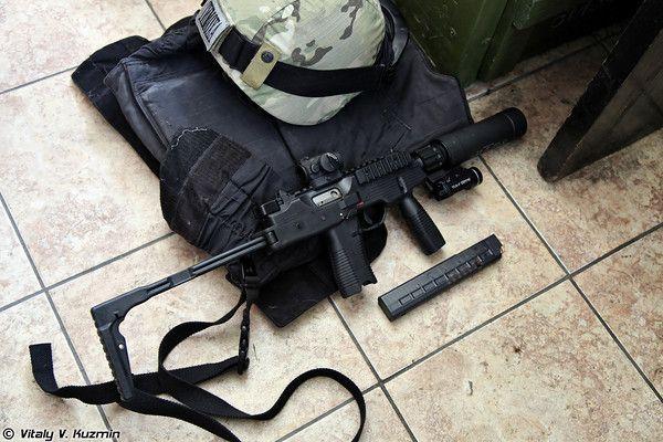 Brügger & Thomet MP9, модификация пистолета-пулемета Steyr TMP