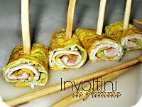 Involtini di frittata farciti   ricetta finger-food   antipasto
