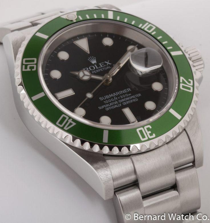 Rolex - Submariner Date 'Anniversary' : 16610V : Bernard Watch https://www.bernardwatch.com/Rolex/Submariner-Date-'Anniversary'/RLX7017?utm_content=buffer6c7e1&utm_medium=social&utm_source=www.pinterest.com/&utm_campaign=buffer
