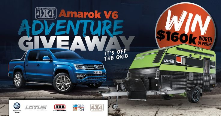 #Giveaway #Win A VW Amarok and more! pool worth $160k from Pat Callinan's 4X4 Adventures! https://wn.nr/NRxcqg