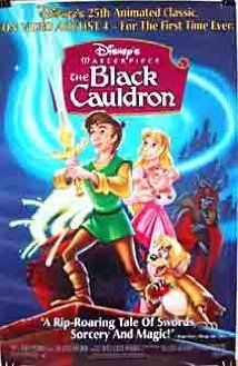 The Black Cauldron (1985) - Ted Berman, Richard Rich. Taron e la pentola magica.  (USA).  Walt Disney.