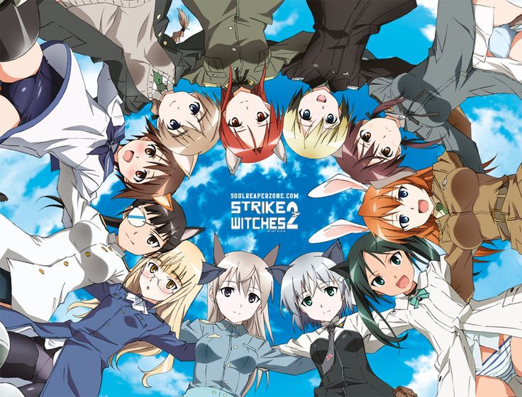 Strike Witches 2 Uncensored Bluray [BD] 480p 80MB 720p 140MB Mini MKV #StrikeWitches2 #Soulreaperzone #Anime
