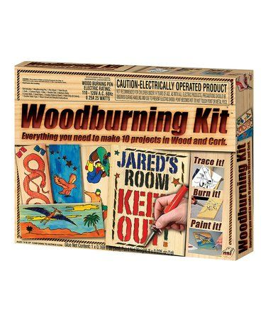 Another great find on #zulily! Wood Burning Kit #zulilyfinds
