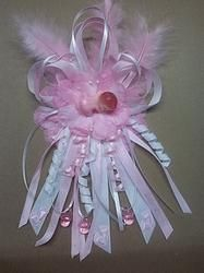 Pink Mom to be Corsage (baby)