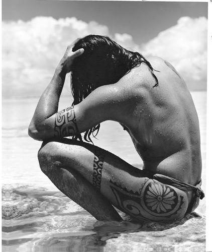 gian paolo barbieri: Polynesian Tattoo, Gian Paolo, Body Art, Long Hair Men, Beautiful Tattoo, Body Tattoo, Traditional Tattoo, Tahiti Tattoo, Tribal Tattoo