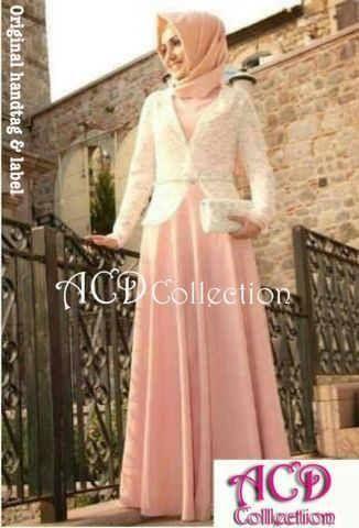 Beli Maxi Dress Pesta S141 Spandex Combi Brokat Unik - http://www.butikjingga.com/maxi-dress-pesta-s141-spandex-combi-brokat