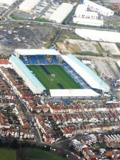 Fratton Park - home of Portsmouth FC.