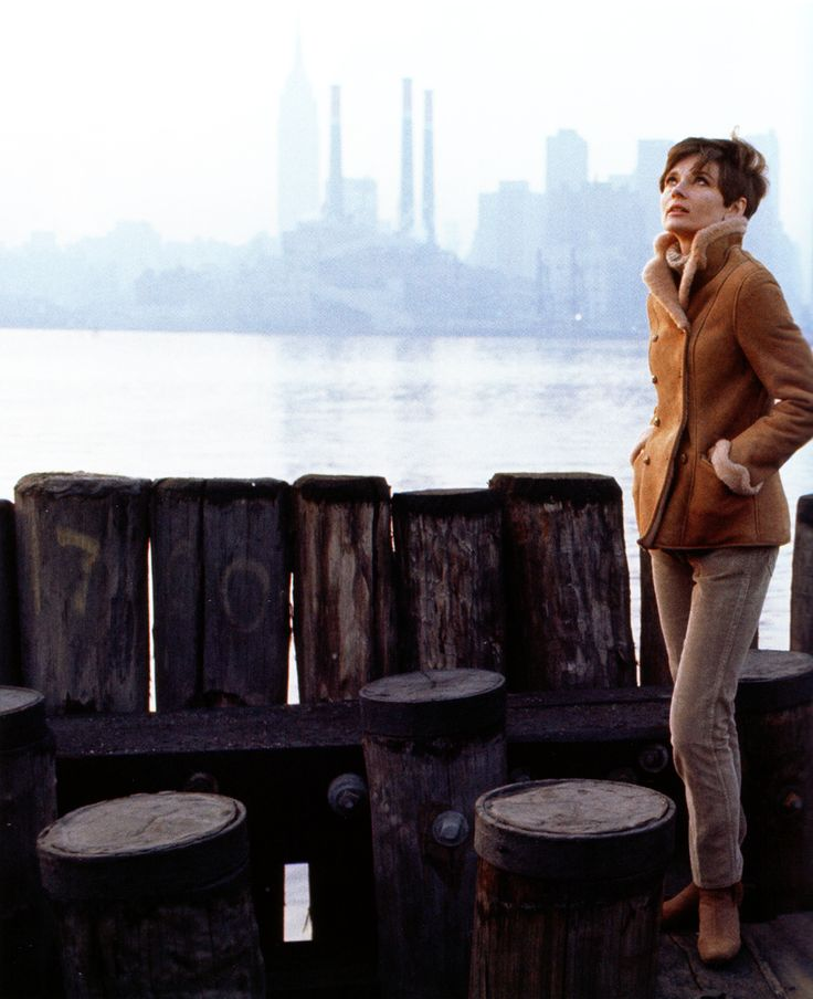 Audrey Hepburn photographed by Howell Conant for the film Wait Until Dark, New York, 1967.