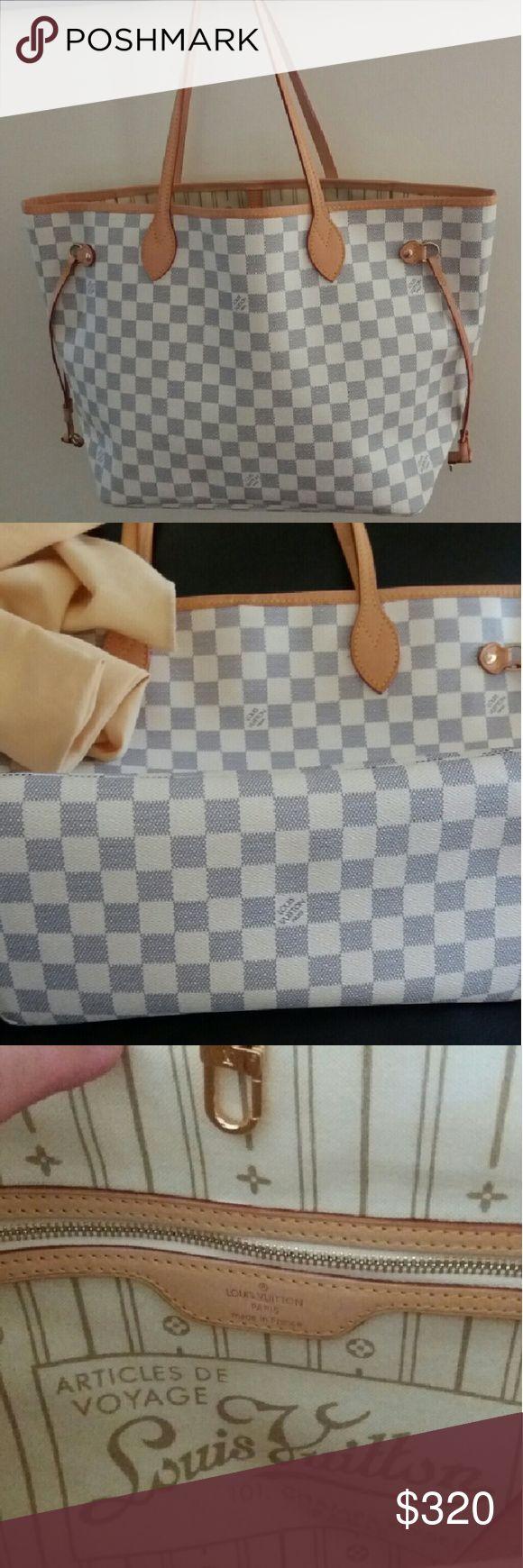 Bag Checkered bag Louis Vuitton Bags Shoulder Bags