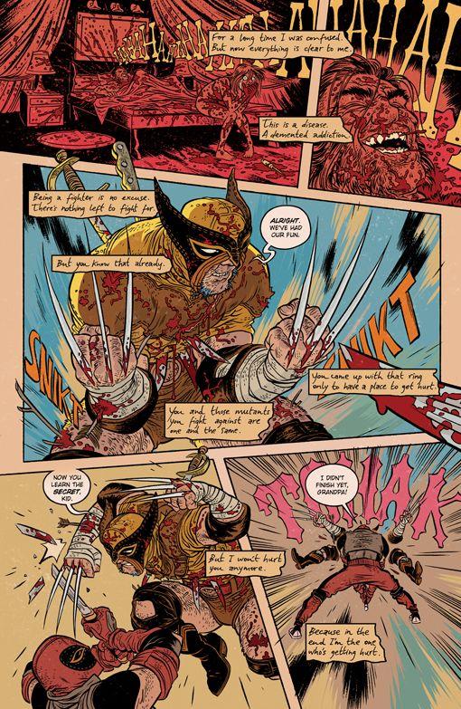 Son of Deadpool vs Logan 2 - Rafael Grampa