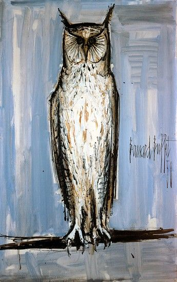 Bernard BUFFET ( 1928 - 1999 ) - Peintre Francais - French Painter Grand Duc