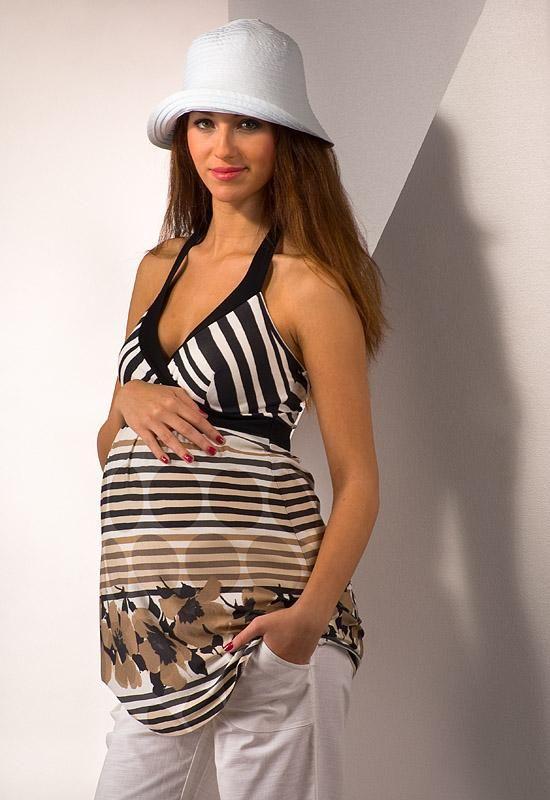 Těhotenská tunika MALAGA :: Těhotenské tuniky - Těhotenská móda