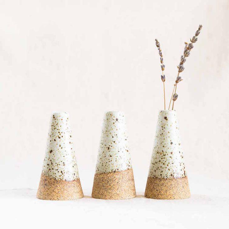 Mudra Vase by Humble Ceramics at General Store