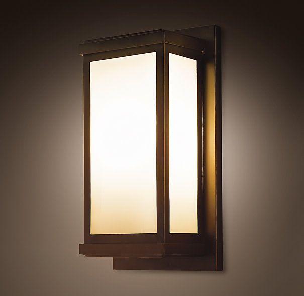 Braxton Sconce Exterior Lighting Pinterest