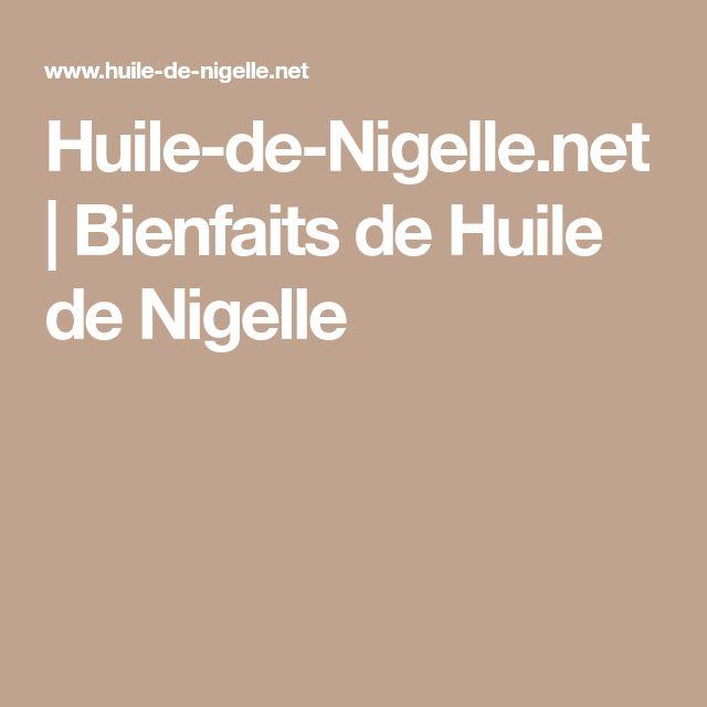 Huile-de-Nigelle.net | Bienfaits de Huile de Nigelle