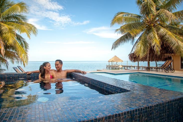 Abandon your cares, relax and rejuvenate in your beachfront villa with private pool, hot tub, and access to all the exciting adventures Belize has to offer!