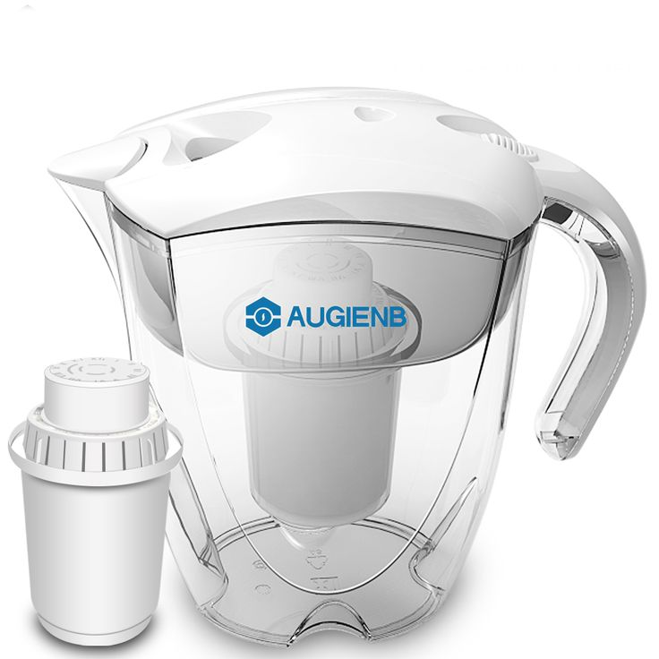 Augienb ph orp alkaline ionizer water pitcher purifier