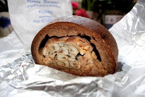 Kalakukko (fish in ryebread crust) by Hanna Partanen.