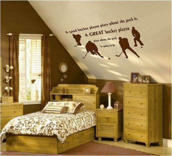 Bedroom Ideas Hockey 125 best hockey room images on pinterest | hockey stuff, hockey