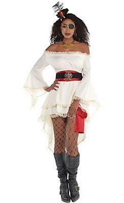 Adult Caribbean Pirate Costume