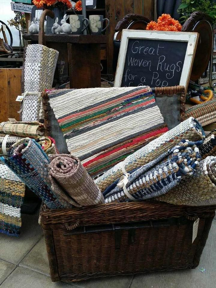 Love these great, heavy woven 100% cotton mats, runners and rugs. 78 John Street, Orangeville 519-941-2592 Closed this Monday for Family Day  Regular business hours Mon - Fri 9 to 6, Sat 9 to 5, Sun Closed #OrangevilleFlorist #HomeDecor #GardenDecor #Vintage #Antique #Reclaimed #Weddings #Bride #Flowers #FlowersOrangeville #Furniture #Local #Florist #Love #Flowers