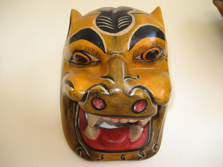Jaguar mask from Tulum, MXJaguar Masks, Masks Mascaras
