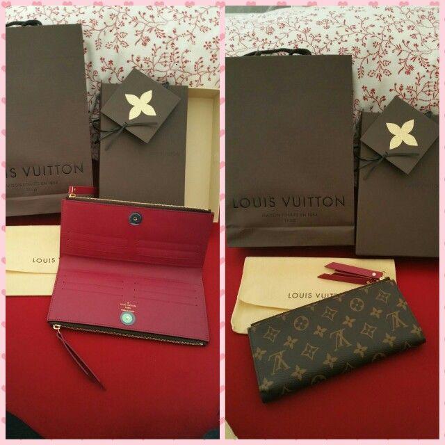 5daff40e7 Louis vuitton adele wallet ❤❤❤   Handbags   Louis vuitton, Bag accessories,  Wallet