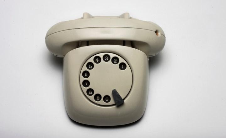 Model of a telephone by Olgierd Rutkowski, 1960' We want to be modern' exhibition, Warsaw | Design | Wallpaper*