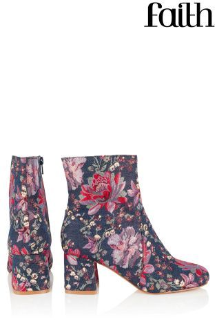 Buy Faith Jacquard Boots from the Next UK online shop