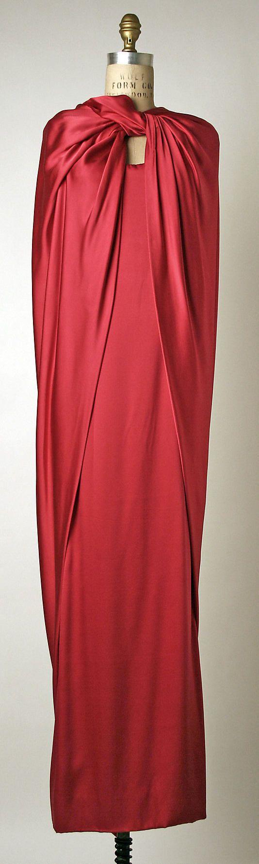 Dress by Pierre Cardin: French, silk, 1980s - met museum
