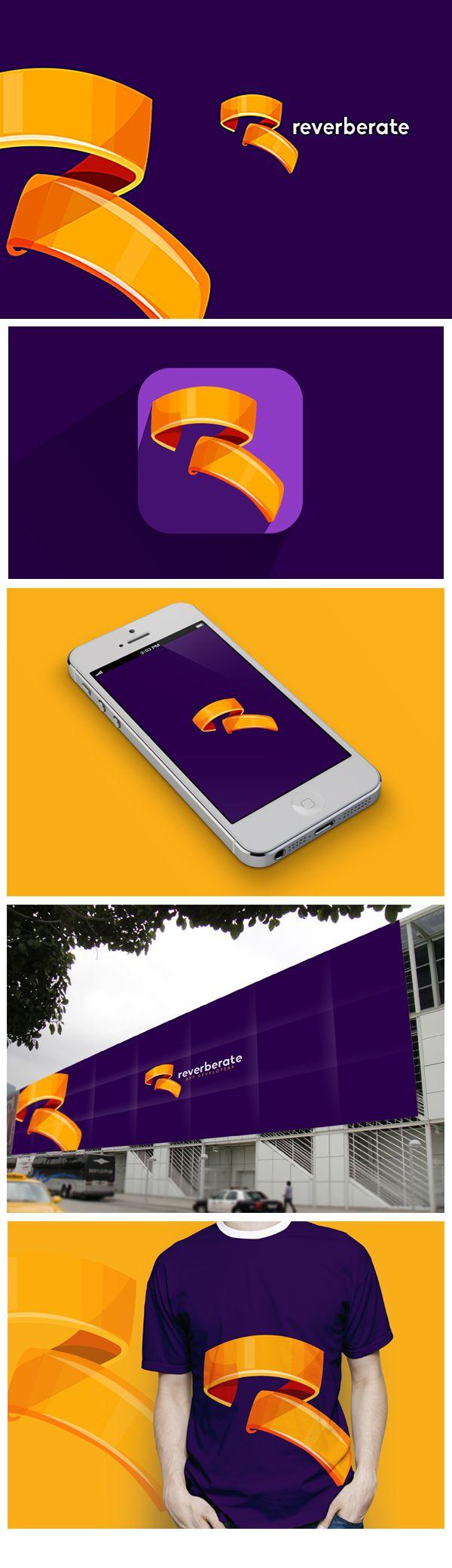 Reverberate | Logo design