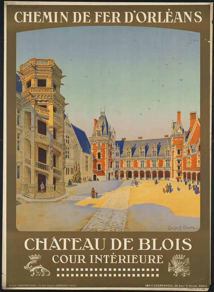 france affiche tourisme region ancien 04 Visitez la France avec des anciennes affiches touristiques  histoire design