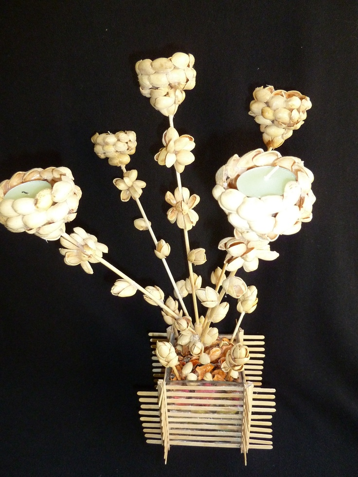 Pistachio shells crafts pinterest for Shell art and craft