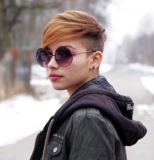 Voor vrouwen die meer kleur in het leven willen, 11 korte kapsels met niet alledaagse kleuren