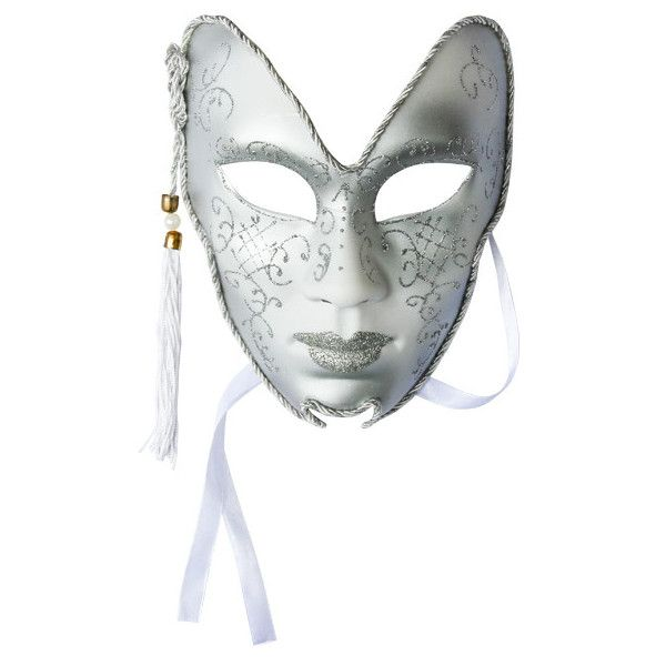 venezianische maske theatermaske glitter karneval silber 896 liked on polyvore featuring costumes masquerade halloween costumesmasquerade - Halloween Costumes With A Masquerade Mask