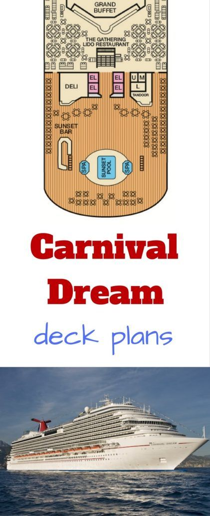 #carnival carnival dream #deckplans deck plans cruise ship #cruise
