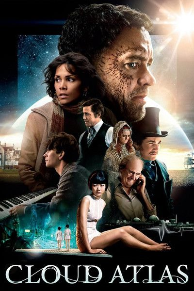 """""""Even as I was watching """"Cloud Atlas"""" the first time, I knew I would need to see it again. Now that I've seen it the second time, I know I'd like to see it a third time — but I no longer believe repeated viewings will solve anything. To borrow Churchill's description of Russia, """"it is a riddle, wrapped in a mystery, inside an enigma."""" It fascinates in the moment. It's getting from one moment to the next that is tricky."""" from Roger Ebert"""