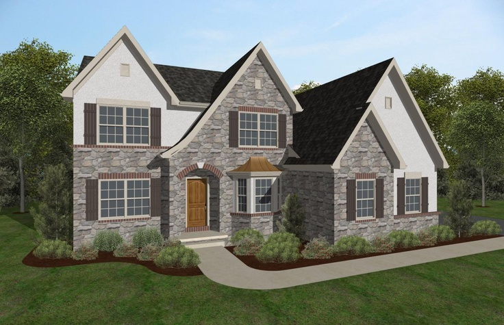Keystone Custom Homes Floor Plans: 23 Best KCH Home Exteriors Images On Pinterest