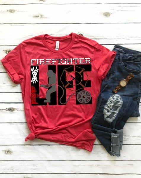 Firefighter Life 1 / home pride shirt / unisex t-shirt / gift for